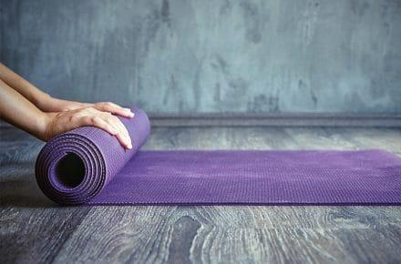 йога-килимок